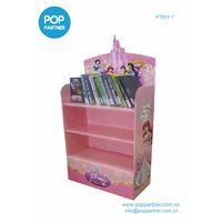 book permanent Floor cardboard shelf display thumbnail image