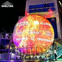 720 ° Full Sphere Theater Projection Dome Event Promotion