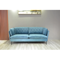Old Style Chesterfield Sofa Wooden Sofa thumbnail image