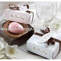 Egg Wedding Soap Favor