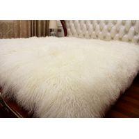 Long Hair Sheep Fur Blanket Sheep Leather Blanket