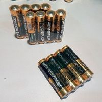 Alkaline AA AAA battery for electronic product