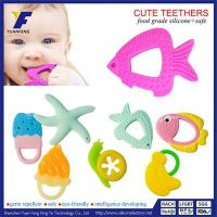 Custom Kids Teething Toy Silicone Baby Teether