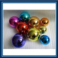 different color stainless steel ball garden steel sphere