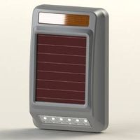 Solar-powered Wireless Warning Lamp