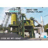 "CODE NO. WT-185AP of USED ""NIKKO"" 1000 ASPHALT PLANT"
