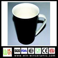 balck coffee ceramic cups