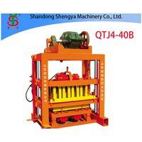 QTJ4-40B Hot sale small concrete block machine of interlocking bricks and blocks thumbnail image