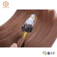 Cheap Micro Ring Loop Virgin Brazilian Human Hair Extensions