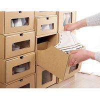 custom drawer sliding kraft paper box for shoes thumbnail image