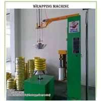Motorcycle Tyre wrapping machine thumbnail image