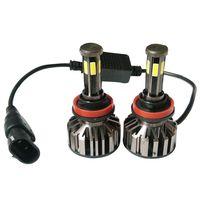 wholesale 6 sides COB led car headlight 6000k auto led headlamp thumbnail image
