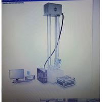 Packaging cushioning material testing machine