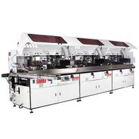 1 to 6 color uv screen printing production line