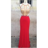 2016 best selling evening dress N497