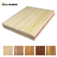 Prefinished 3 Layers Bamboo Plywood Sheet 15mm for Sale