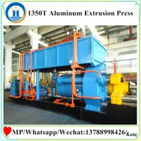 equipment for extrusion of aluminum profiles