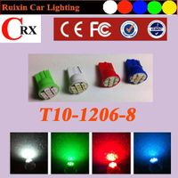 High Quality T10 wedge 8 1206 car led light