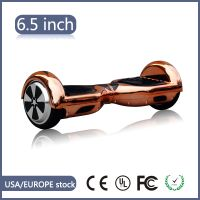 "6.5"" UL Certified Classic Hoverboard In Golden plating"