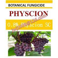 biopesticide, 0.8% Physcion SC, natural organic botanical fungicide