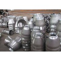 Hot Pipe Fittings cs seamless ecc reducer