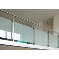 the CE CSI SGCC certification of safety toughened glass railing,canopy,Balustrades thumbnail image