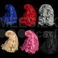 High Quality Silk Satin Scarf/ New Collection Summer Hijab Design Style