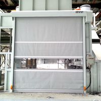high speed roller shutter explosion-proof with CE and remote control