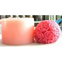 silicone flower candle molds