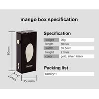 Big vapor mango mechanical box mod vapor