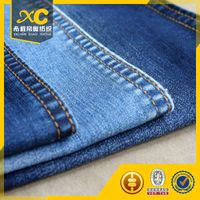 India popular 9oz cotton poly denim fabric