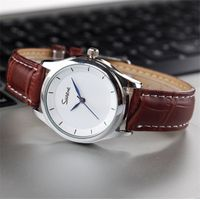 Yxl-569 Factory Price Fashion Watches Men for Wholesale, OEM Men Leisure New Genuine Leather Watches thumbnail image