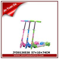 2014 toys, SINGLE FOOT FLASH SCOOTER 3 COLOR MIXING