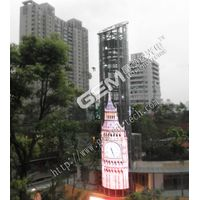 High transparency indoor P25 transparent led display