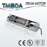 Package machines application 80mm drum motor