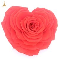 Heart Shape Preserved Rose for wedding decor