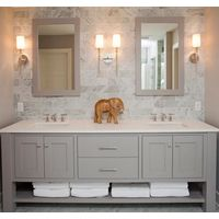 2017 Hot Sales High-end Solid Wood Bathroom Vanity Cabinet Kitchen