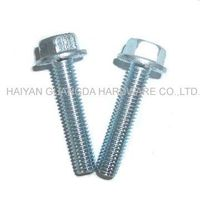 Hex Flange Bolt DIN6921