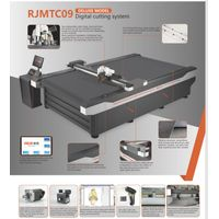 RUK New Design Flatbed Cutting Plotter/Vacuum Absorption/PVC cutter thumbnail image