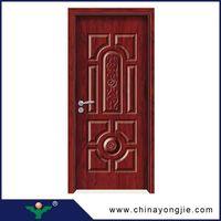 Modern house interior doors design wooden door vents Quality Assured thumbnail image