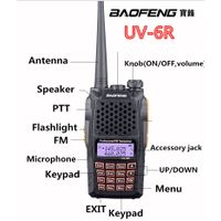 Handy Two Way Radio Baofeng UV-6R