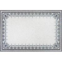 White Crabapple Marble Medallion Living Room Carpet thumbnail image