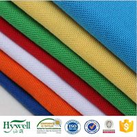 Polyester Cotton Pique Fabric for Men's Polo Shirt