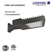 DLC premium CREE LED Shoebox Area Lights, 320w, 7yr warranty