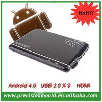 2012 hot android 4 media player, smart Google tv box ,internet IPTV box AML 8726 M3 skype tv box