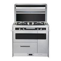 Integrated environmental stove ,integrated gas cooker thumbnail image