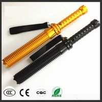 Tactical Self Defense Zooming Lengthened LED Flashlight T6 L2 Emergency Torch
