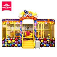 Carnival Fun Fair Playground Amusement Rides Kiddie Train Magic Spray Ball Car