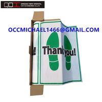 Disposable Plastic Car Foot Mat