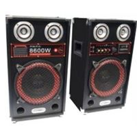 Top Sale Dual 10'' Live Speaker System Subwoofer Speaker With Dancing Light Made In China
